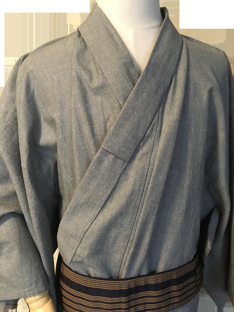 男の浴衣のイメージ